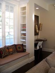 furniture lovely low bay window seat with three cute cushions and bay window furniture ideas bay window furniture