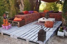 pallet furniture patio pallet patio deck unique use of pallet bedroomlicious patio furniture