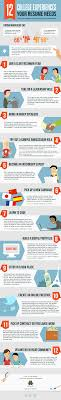 12 ways to build your resume in college infographic e learning 12 ways to build your resume in college infographic