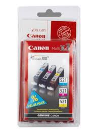 Набор <b>картриджей Canon CLI-521</b> CMY [2934B010 ...