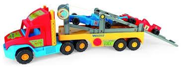 Купить <b>Набор машин Wader</b> Super Truck с Формулой (36620) 77.5 ...