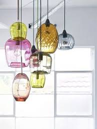 handblown glass pendant lights beautiful colors hanging pendants spring colors diy project blown pendant lights lighting september 15