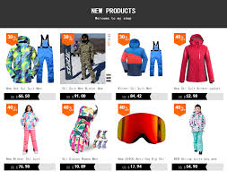 Online Shop <b>New Hot Ski Suit</b> Men Winter New Outdoor Windproof ...