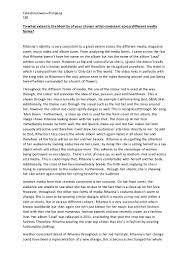 rihanna loud album essay