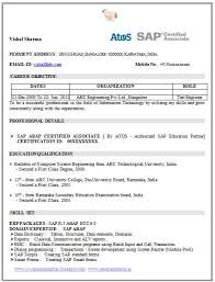xxxx x it consulting sample sap resume sap sample resumes