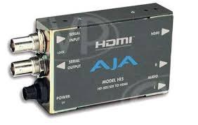 Buy - AJA Hi5 - <b>HD</b>-<b>SDI</b>/<b>SDI</b> to <b>HDMI</b> AV mini converter