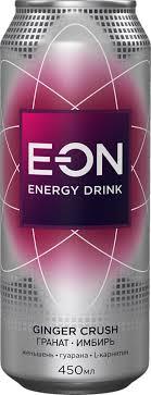 Купить <b>энергетический напиток</b> ginger crush <b>E-on</b> energy drink ...