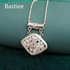 <b>Bastiee</b> Chinese <b>999 Sterling</b> Silver Pendant For Women Antique ...