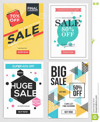 and discount flyers stock vector image  and discount flyers 5