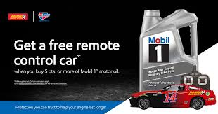 Advanced Auto Parts Toy <b>Car</b> Promotion | Mobil 1™ Engine Oil