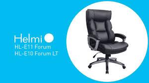 """<b>Кресло руководителя Helmi</b> HL-E11 """"Forum"""", экокожа черная ..."""