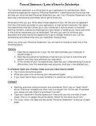 How to write a personal statement for a job   Good Resume Sample personal statement letter format