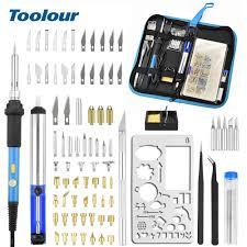Toolour <b>1300</b> Celsius Cordless Gas Soldering Iron Kit Mini <b>Welding</b> ...