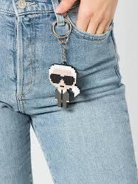 Пиксельный брелок KARL Karl Lagerfeld 11836679 в интернет ...