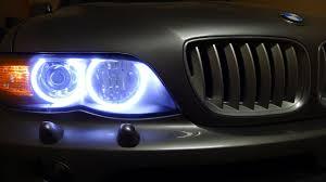 BMW X5 53 кузов тюнинг <b>передних</b> фар - YouTube