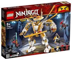 <b>Конструктор LEGO Ninjago</b> 71702 <b>Золотой</b> робот — купить по ...