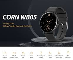 <b>CORN WB05 Bluetooth Call</b> Waterproof Smart Watch Sale