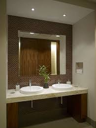 executive restroom great design and use of space clear space under countercommerical office ideas office design bathroom small office space