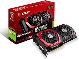 MSI Gaming GeForce GTX 1070 8GB GDDR5 SLI ... - Amazon.com