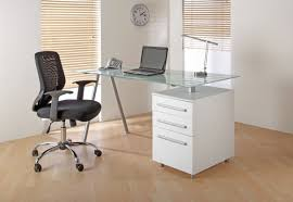 glass home office desk beautiful office desk glass