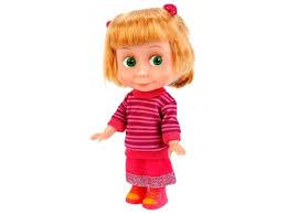 Купить <b>куклу Карапуз Маша</b> и Медведь Маша, в свите 15 см ...
