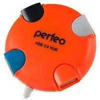 «<b>USB</b> HUB 4 порта (<b>Perfeo</b> PF-VI-H020) (оранжевый ...