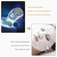 Online Shop NEWEST 3/7 Colors <b>Photon</b> Electric <b>LED Facial Mask</b> ...
