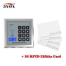 <b>Access Control</b> System <b>RFID</b> Card Keytab Proximity <b>Door Lock</b> Free ...