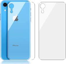 <b>Защитное</b> стекло на <b>заднюю крышку</b> для Apple iPhone XR ...