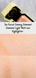 <b>Too Faced Canary Diamond</b> Diamond Light Multi-use Highlighter ...