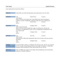 basic resume examples   alexa resumebasic resume examples objective  basic resume examples