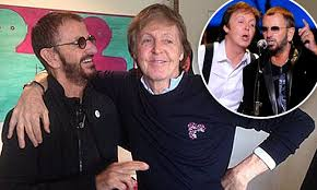 Paul McCartney reunites with Beatles band-mate Ringo Starr | Daily ...