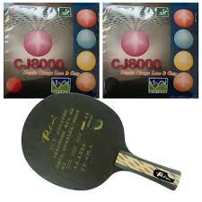 Original <b>Pro Table Tennis Combo</b> Racket: Palio TCT Blade with 2x ...