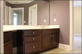dark brown cabinets purple bathrooms and brown cabinets on pinterest brown bathroom furniture