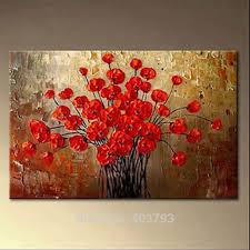 <b>Huge Modern Abstract</b> 100% Painted Oil Painting on Canvas Wall ...