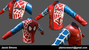 Spider-Man Jacket, Jacob Simons - ArtStation