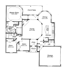 One Story Home Plans Ranch Floor Plans Story Open Floor Plans    contemporary open floor plan single story open floor plans lrg defd