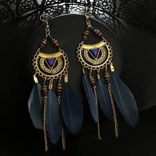 Women <b>Earrings</b> Vintage <b>Fashion</b> Jewelries Ornaments Tassel ...
