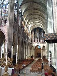 the nave basilica saint denis