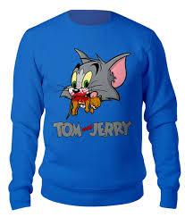 """Свитшот унисекс хлопковый """"<b>Tom</b> NOT <b>Jerry</b>"""" #2313354 от balden ..."""