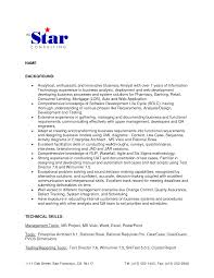 cover letter for junior business analyst