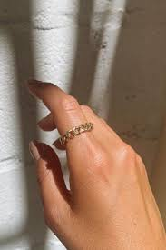 Bold Chain Ring в 2020 г | Женские украшения, Ювелирные ...