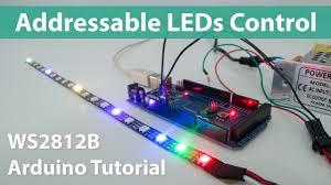 How To Control <b>WS2812B</b> Individually Addressable <b>LEDs</b> using ...