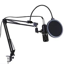 <b>BM800 Professional</b> Suspension Microphone Kit <b>Studio</b> Live Stream ...