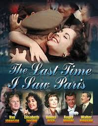 Resultado de imagem para the last time i saw paris  Richard Brooks