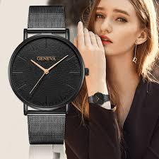GENEVA <b>Women's Watch 2019 Fashion</b> Ladies Watches For ...