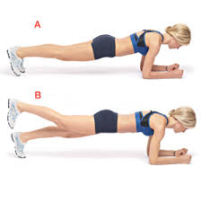 Image result for plank position exercise