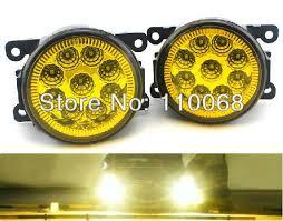 1 pair super bright led fog light for ford focus fiesta swift led fog lights gold arco lighting