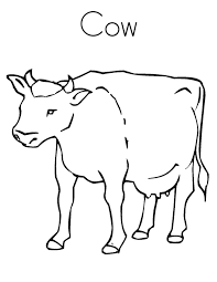 Small Picture New Cow Coloring Pages Cool Coloring Design Ga 1361 Unknown