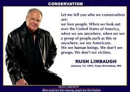 Limbaugh Quotes. QuotesGram via Relatably.com